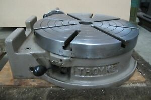Troyke 15 Rotary Table Model Bh 15