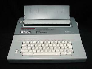 Smith Corona Electric Typewriter Sl 580 Intelligently Quiet Works Great