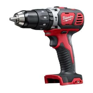 New Milwaukee 2607 20 18v M18 Cordless 1 2 Chuck Hammer Drill Tool Only