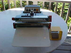 Aie 310fda 12 Inch Automatic Impulse Sealer Single Double Foot Pedal
