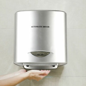 Heavy Duty Commercial 950w High Speed Automatic Hot Hand Dryer Stainless Steel