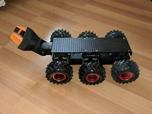 Dagu Wild Thumper 6wd Black Wheeled Chassis 75 1 Gears New Inculdes Robotic Gri