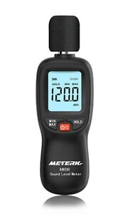 Meterk Handy Noise sound Level Meter Lcd Digital 30 130 From Japan F s
