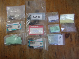 Lot 1955 1957 Chevy Small Parts New Fender Shims Valve Cover Screws Etc