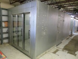 Walk in Cooler Merchandiser Doors 10 X 18 Remote Refrigeration Side Door