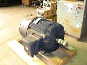 300 Hp Leeson Electric Motor 1800 Rpm 445t Frame Tefc 460 V New