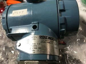 Rosemount Analytical 3051cg2a22a1ab4l4df Pressure Transmitter 9psi