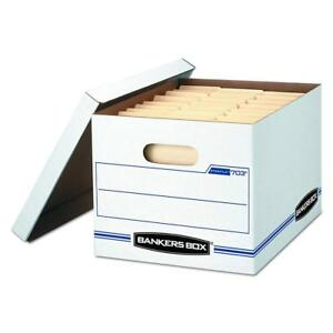 Bankers Box Stor file Storage Boxes Standard Set up Lift off Lid