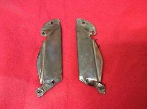 1951 1952 Chevrolet Grille Parts Verticle Braces Great Shape Not Rusted