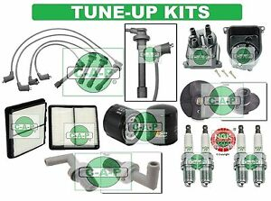 Tune Up Kits For 92 95 Civic Del Sol Spark Plugs Filters Wire Set Cap