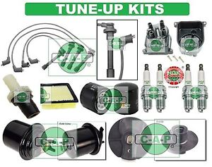 Tune Up Kits For El 96 00 Civic Spark Plugs Filters Wire Set Dist Cap