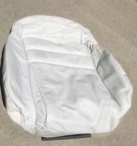 New Oem Genuine Ford Mustang Sn95 Factory White Leather Seat Cover Front Left