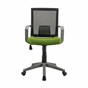 Techni Mobili Rolling Mesh Office Task Chair W Arms