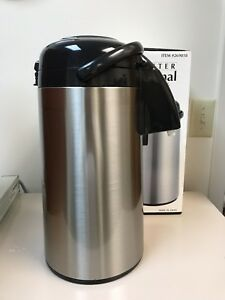 Tiger 3 Liter Professional Thermal Air Coffee Pot Stainless Mpn 269818 In Box