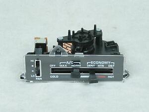 1977 1978 1979 C3 Corvette Heater Ac Air Conditioner Control Switch Assembly