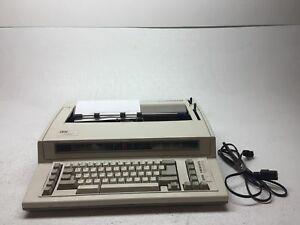 Vintage Ibm Wheelwriter 1000 Lexmark 6781 024 Electric Typewriter Tested works