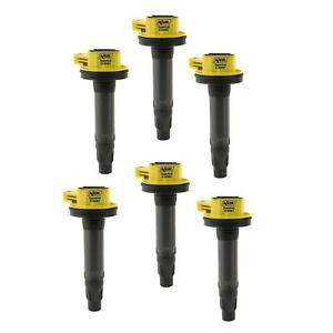 Accel Ignition Coil Super Socket Round Black Yellow Ford Lincoln Mercury Each