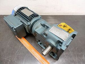 Sew eurodrive Electric Gear Motor 75 Hp 3ph 230 400 50 Hz 36 Rpm