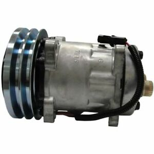 New Ac Compressor For Ford New Holland Lv80 U80 Loader