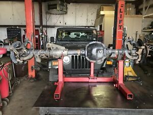 87 89 Jeep Wrangler Axle Dana 30 4 10 Gears Front Yj Will Fit 90 95 Factory Oem