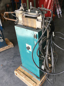 Air Products Water Cooled Resistance Spot Welder Rwf20nwy 230v 90a