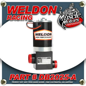 Weldon Racing Db2025 A High Performance Fuel Pump Up Good Up To 1400 Hp