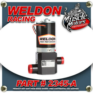 Weldon Racing 2345 A High Performance Fuel Pump Up 1400 Hp To 2400hp Plus
