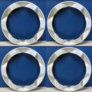 2004 2009 Toyota Prius 69450 15 Trim Rings Oem 4260247030 Refinished Set 4