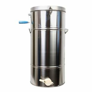 Stainless Steel Bee Tool Honey Extractor Honey Centrifuge Without Honey Gate