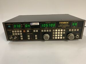 Tenma 72 4050 Am fm Stereo Signal Generator With Manual
