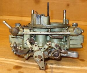Holley 4548 Carburetor For Ford With Automatic Choke