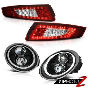 Xenon 05 08 Porsche 997 Facelift Style Headlights Led Signal Tail Brake Lights