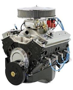 Blueprint Engines Gm 350 C I D 365hp Fully Dressed Crate Engine Bp3501ctc1
