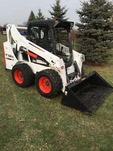2015 Bobcat S530 Skid Steer With New Tomahawk 66 Inch Bucket