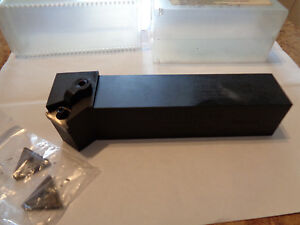 Tool Flo Indexable Tool Holder New 1 1 4 Shank With New Inserts