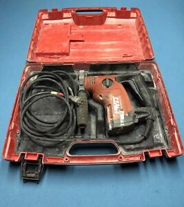 Hilti Te 6 s Rotary Hammer Drill With Storage Case