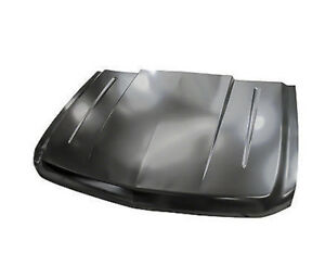 New Steel 2 Cowl Hood For 2007 2013 Chevrolet Silverado 1500 Pick Up