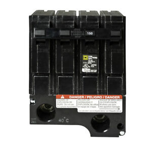 New Hom2150bb Square D 150 Amp 2 Pole Hom2150 Circuit Breaker Homeline Sub Feed