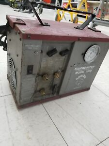 Fluromizer Oilless Refrigerant Recovery System 3500 Used Condition
