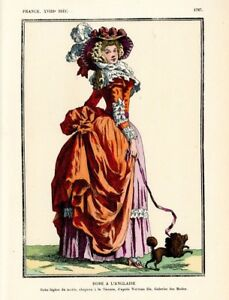 Xvii Xviii Sewing Patterns Costumes For Ladies Men Many Uniforms