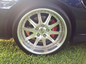 Porsche 996 Turbo 19 Wheel Set