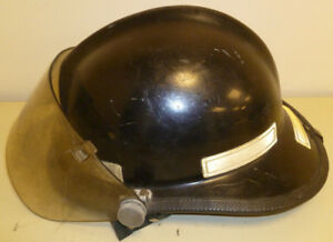 Firefighter Bunker Turn Out Fire Gear Cairns 660 Black Helmet W Visor H167