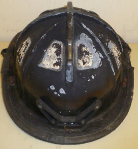 Firefighter Bunker Turn Out Gear Cairns C trd Burnt Black Helmet H190