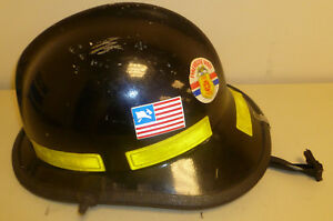 Firefighter Bunker Turn Out Gear Cairns N660c 660c Black Helmet Reflector H166