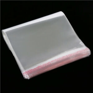 Clear Opp Cellophane Bags Card Display Self Adhesive Peel And Seal Plastic Bag