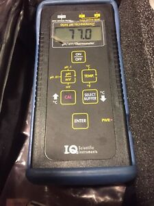 Scientific Instruments Iq150 Ph Meter Field Or Bench Top With Electrode Ph 0 14
