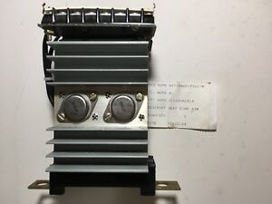 General Electric Ic3603a281a Heat Sink Asm Rectifier Assembly Nos