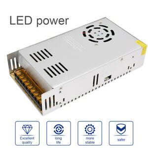 Led Transformer power Supply adaptor driver Dc12v 24v 24w 360w Diy Lighting Leds