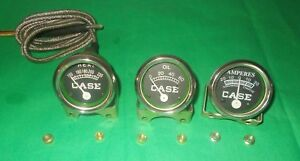 Case Tractors C d di do l la lai rc s sc si so 400 600 Temp Oil amp Gauge Set