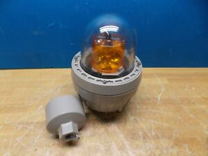 Federal Signal Rotating Beacon Incandescent Light 90 Flashes min 121x 120asc